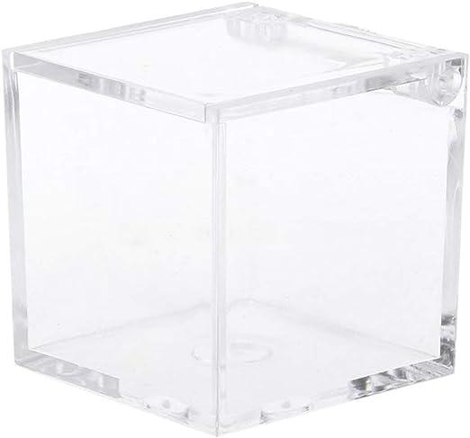 Miracle day-gift box Caja de plástico Transparente para Dulces de ...