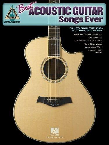 Best Acoustic Guitar Songs Ever Paperback December 1, 2006