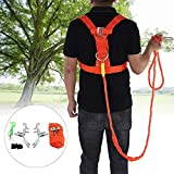 DERCLIVE Claw Climbing Tree Tool Safe Belt Set Cut