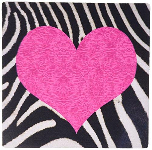 3dRose Rockabilly Zebra Animal Stripe