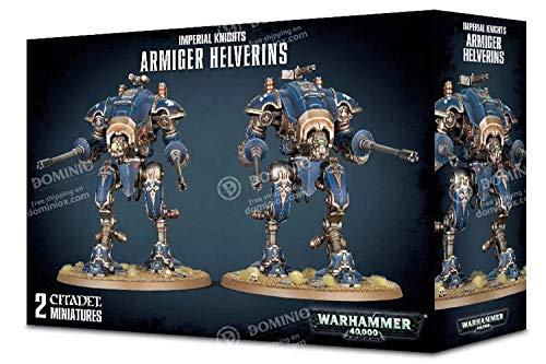 Warhammer 40,000 Imperial Knights Armiger Helverins