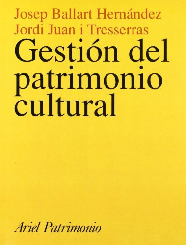 Descargar Libro Gestión Del Patrimonio Cultural Josep Ballart