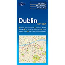 Lonely Planet Dublin City Map 1st Ed.