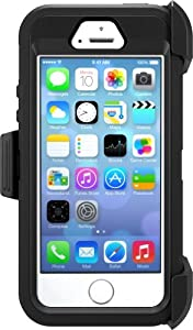 OtterBox DEFENDER SERIES Case for iPhone 5/5s/SE - Retail Packaging - BLACK by OtterBox