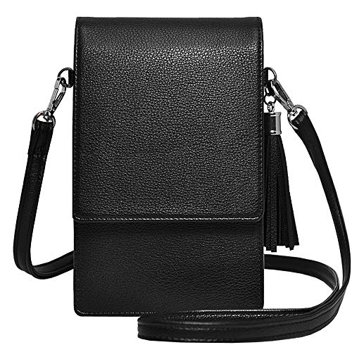 Small Crossbody Bag Lightweight Roomy Cell Phone Purse Travel Passport Bag Crossbody Handbags for Women