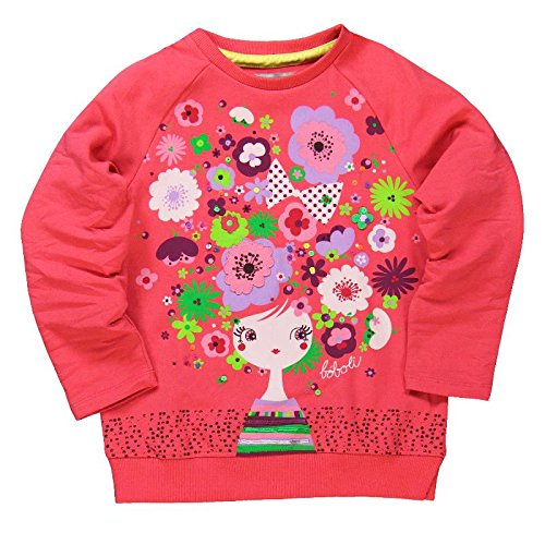 boboli Camiseta Punto ELÁSTICO - Camiseta para bebés color petalo talla 6 años 409003