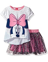Girls' Minnie Mouse 2-Piece Skirt Set