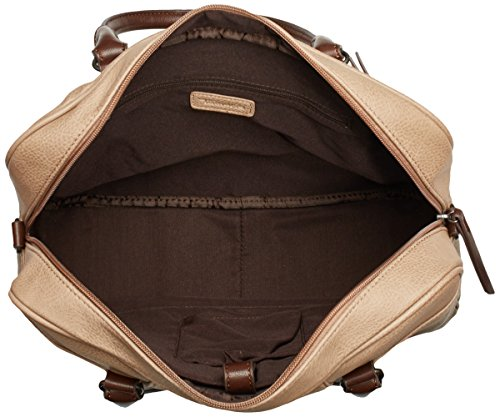 Bolso Mujer Bag Business Sintética taupe Mano Beige Piel Tamaris Comb De Alma 8n0wBBx