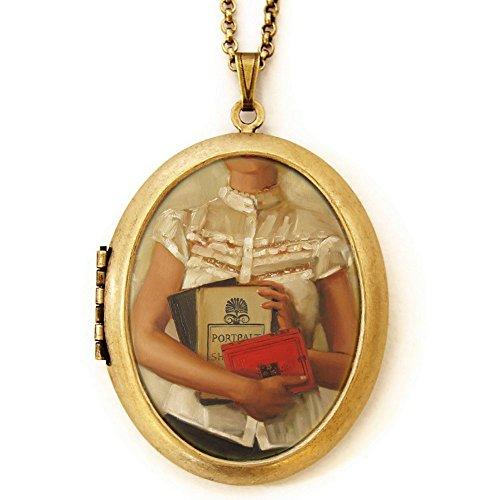 Locket Book (Dearest Mine Women's Brass Plated