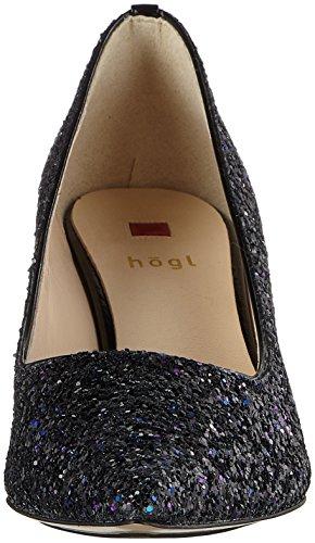 Högl 4-11 6719, Scarpe col Tacco Punta Chiusa Donna Blu (Blue 3200)