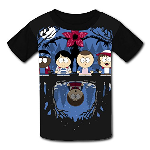 Eric Cartman Costume (South Night Stranger-Park T-shirts for Kids Tee Shirt Tops Short Sleeve Costume Boys Girls)