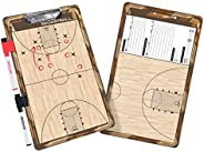 GoSports Coaches Boards - 2 Sided Premium Dry Erase Clipboards - Choose from Baseball, Basketball, Football, S