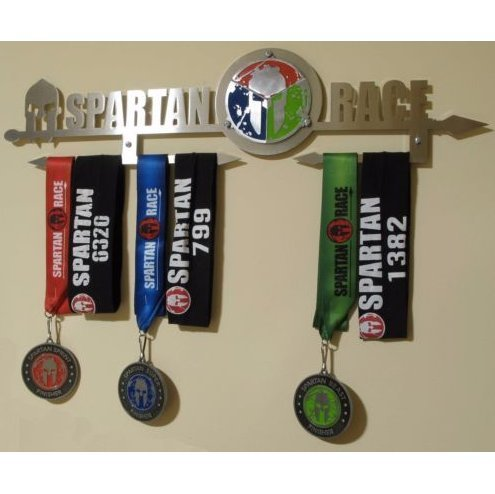 Medal Life - OCR Life Spartan Medal Display (Stainless Steel)