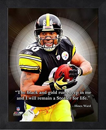 Hines Ward Pittsburgh Steelers ProQuotes Photo (Size: 9