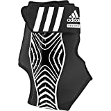 adidas Performance adizero Speedwrap Right Ankle Brace, Black/White, Large
