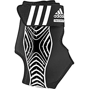adidas Performance adizero Speedwrap Left Ankle Brace, Black/White, X-Large