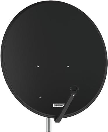 Antenne Opticum Sat Schüssel 80 Cm Alu Lh 80 Anthrazit Elektronik
