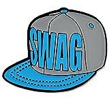 PinMart's Trendy Swag Snapback Baseball Hat Enamel Lapel Pin
