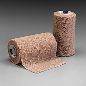 Amazon.com: Nexcare Coban Self-Adherent Wrap, 2-Inch x 5-Yard Roll, 1 Count: Health & Personal Care