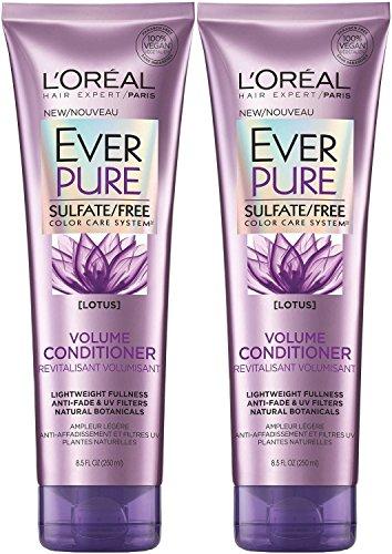 L'Oreal Ever Pure Volume Conditioner Lotus, 8.5 Fl Oz (Pack of 2) ()