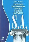 capa de Problemas das Sociedades Anônimas e Direito Comparado S.A.