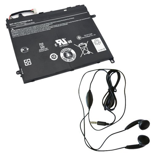Amsahr Replacement Battery for Acer Iconia Tab A510 ( 4 C...