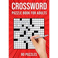 Crossword Puzzle Books for Adults: Cross Words Activity Puzzlebook | 90 Puzzles (US Version)