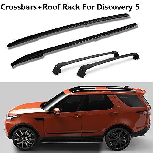 Chebay 2Pcs Fits for BMW G05 X5 2019 Crossbar Cross Bar Roof Rail Roof Rack Rail Rack Lockabel Baggage Luggage Carrier Adjustable Silver