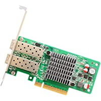 IO Crest SY-PEX24049 2 Port 10 Gigabit PCI-e x8 NIC Network Card, Intel Chipset
