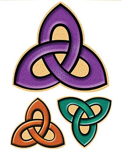 (Irish Celtic Trinity Knot Decal Vinyl Window)