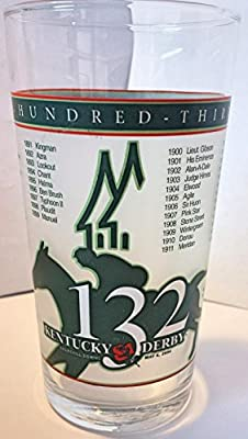 Kentucky Derby Official 132nd Julep Derby Glass 2006 -- Churchill Downs