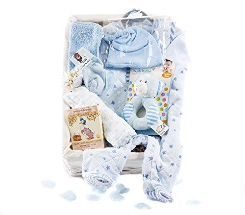Wickers Voor Baby Premium Hamper – BOY   Wickers Gift Manden