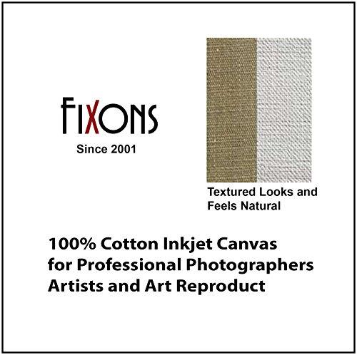 "100% Cotton Inkjet Canvas for Epson - Matte Finish 44"" x 40"