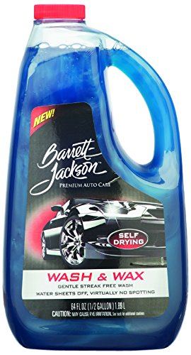 Barrett Jackson Wash Liquid Super Concentrated Shampoo