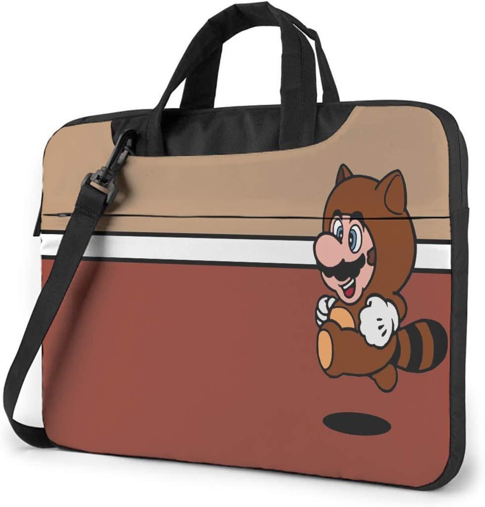14 Inch Laptop Bag Mario Laptop Shoulder Messenger Bag Case Business Office Work Bag, Laptop Sleeve Briefcase for Women and Men