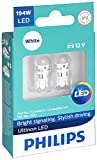 Philips 194WLED Ultinon LED Bulb (White), 2 Pack