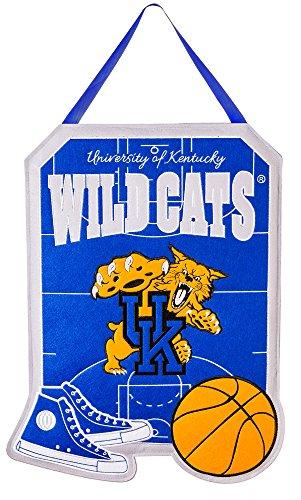 Team Sports America Kentucky Wildcats Outdoor Safe Felt Door Decor