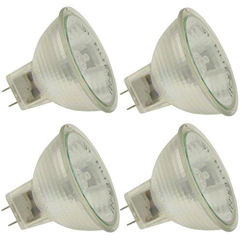 Industrial Performance Q50MR16/FL/GY8/CG 120V, 50 Watt, MR16, Bi-Pin (GY8) Base Light Bulb (4 Bulbs)