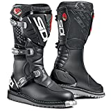 SIDI Mens Discovery Rain Off-Road Boots Black 9.5