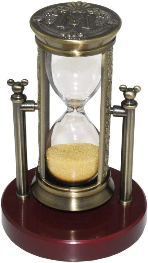 Rotative Sablier Hourglass Minuterie Horloge Maison Bureau Décoration Cadeau de Noël