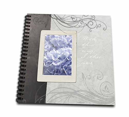 ue Hydrangea with This Ring Wedding Floral Romantic Flowers Drawing Book, 8 by 8-Inch (Blue Hydrangea Sticker)
