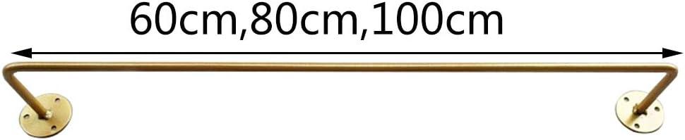 Unbekannt Goldene Bekleidungsgesch/äFt Wandbehang Garderobe Bekleidungsgesch/äFt Schlafzimmer Veranda Bad Wand Kleiderst/äNder Regal D/üNne Rohr Kleiderst/äNder