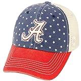 Alabama Crimson Tide NCAA Top of the World ''Freedom'' Adjustable Mesh Back Hat