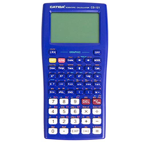 Graphing Calculator - CATIGA CS121 - Scientific and Engineering Calculator - Programmable System (Blue)