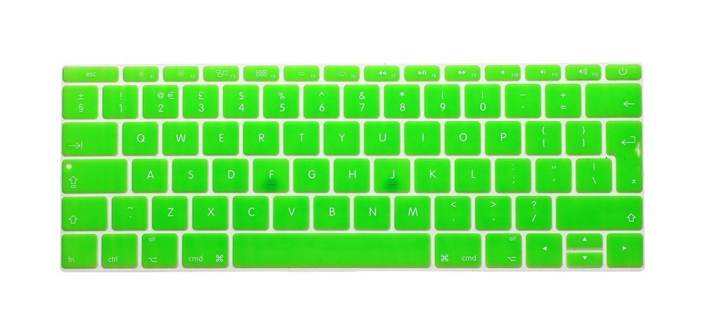 model A1708,2016.10 Release USA Layout i-Buy Ultra Thin Clear TPU Keyboard Cover Film for Macbook 12 and Pro 13 without TouchBar - TPU Clear