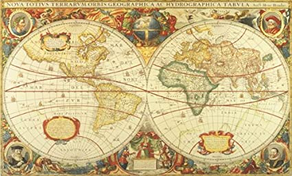 Old World Map Mural.Amazon Com Environmental Graphics C873 Antique World Map Mural