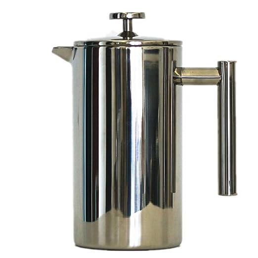 Cafetera Francesa de presión, Filtro de café para Preparar té, Dos ...