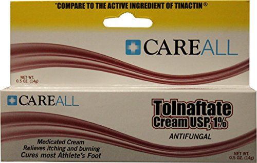 .5 oz Tolnaftate Cream Antifungal for Feet 72 pcs sku# 334917MA by DDI