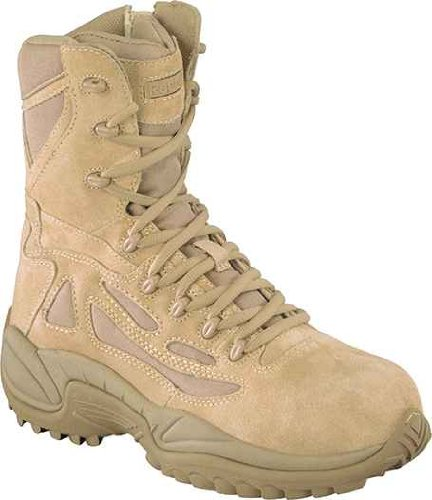 Desert Stealth 8' Tactical Boot - Military Boots, Safety Toe, 8In, 11, PR