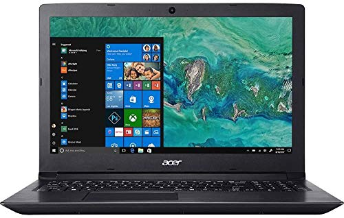 """Acer Aspire 3 15.6"""" LED HD Laptop AMD Athlon Silver 3050U 128 SSD 8GB DDR4 Memory 802.11ac WiFi USB 3.0 Webcam SD Card Reader HDMI Ethernet Windows 10 Home FreeCit Accessories"""